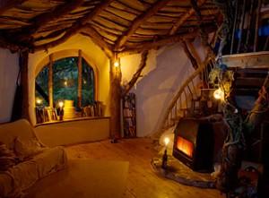 Intérieur maison hobbit
