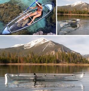 Canoe transparent