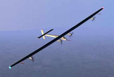 Avion solaire